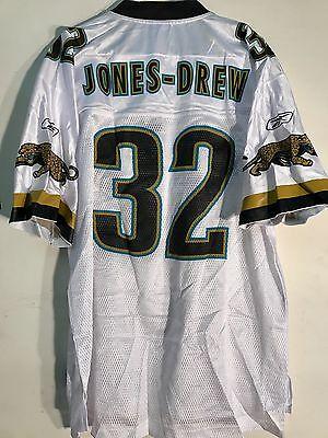 Reebok NFL Jersey Jacksonville Jaguars Maurice Jones-Drew White sz - Blank Reebok Jersey
