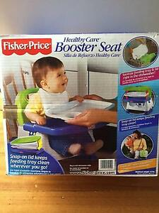 Fisher Price Healthy Care Booster Seat Pascoe Vale South Moreland Area Preview
