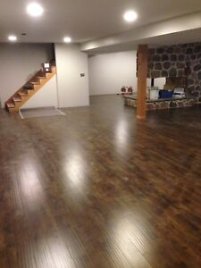 Laminate (supplied and installed )