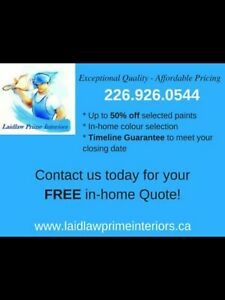 Interior Painting ~ Winter Special! Book Today ☎️2269260544