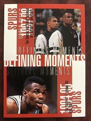 Robinson, Duncan, Rodman San Antonio Spurs Defining Moments UD 97/98