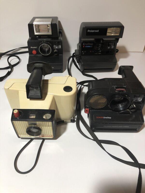 Vintage Polaroid Camera Lot