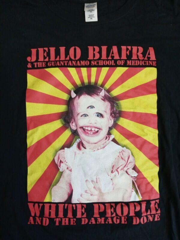 Jello Biafra And The Guantanamo School Of Medicine XL Tshirt