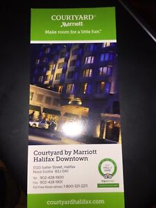 Marriott Courtyard - Night stay downtown Halifax