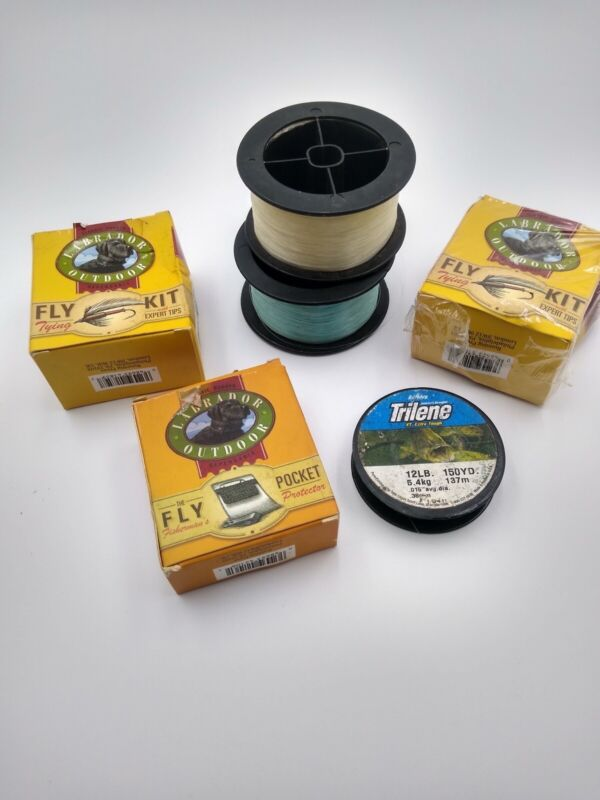 Labrador Outdoor Fly Kit and Fly Pocket Kit with Expert Tips, Fishing - Lot NIB