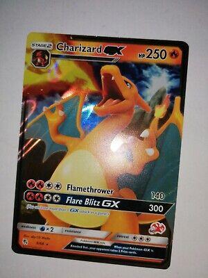 Charizard GX - SM Hidden Fates 9/68 - Rare Pokemon Card