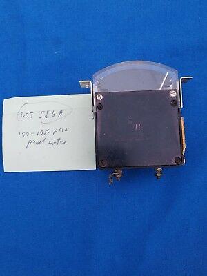 Vintage International Instruments Vertical Edgewise Panel Meter 100-1050 Psia