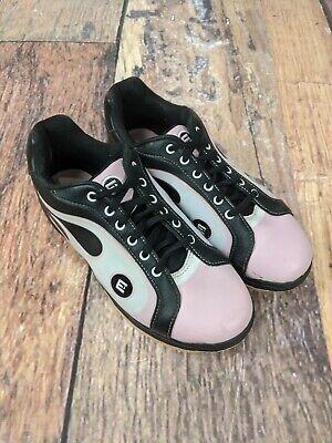 Etonic White//Purple Flame Womens Bowling Shoes