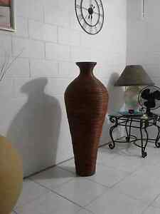 Tall cane vase $50 Bayview Heights Cairns City Preview