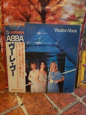 ABBA Voulez-Vous [DSP-5110] JAPAN VINYL LP Record OBI