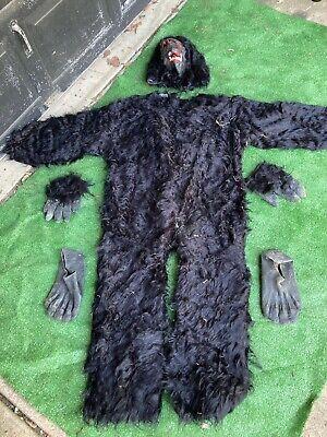 Vintage Ben Cooper King Kong Lives Adult Ape/Gorilla Costume