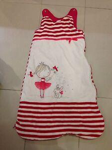 Dormeuse pour bébé fille 6-18mois sac de couchage bébé fille
