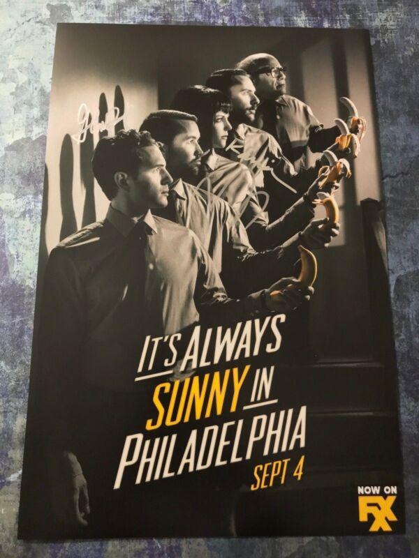 Dennis Mac Dee * IT'S ALWAYS SUNNY IN PHILADELPHIA * Signed 12x18 Photo S1 COA