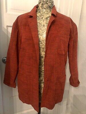 Album By KENZO Vintage Burnt Orange Jacket M