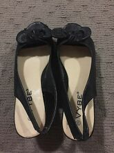 Size 9 black wedges Gympie Gympie Area Preview