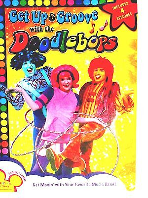 Get Up and Groove with The Doodlebops DVD,DISNEY DANCE SING GROOVE FREE SHIP!!
