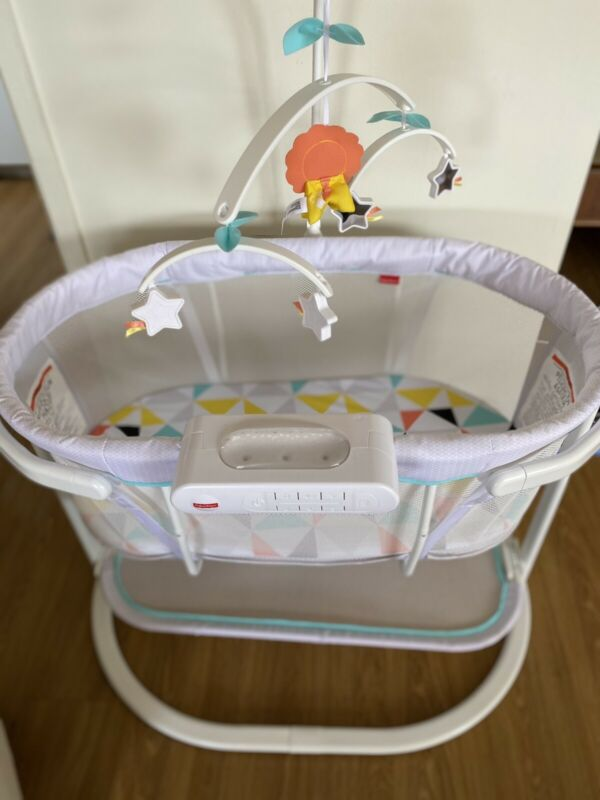 Fisher-Price DPV72 Soothing Motions Bassinet