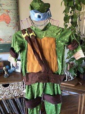 Boys Ninja Turtle Blue Mask With Shell - Blue Ninja Turtle