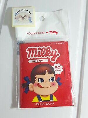 Holika Holika -  Sweet Peko Edition Oil Paper / Blotting Paper 50 Sheets *Milky*