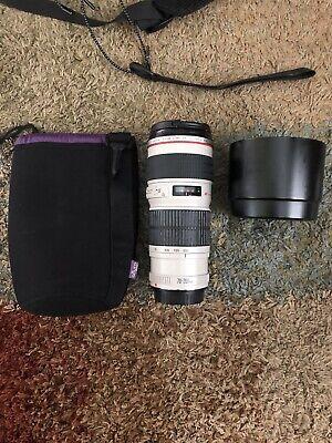 Canon EF 70-200mm f/4 USM Lens
