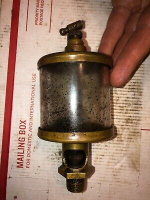 Brass Engine Oiler Size 4 Hit Miss Stationary Engine