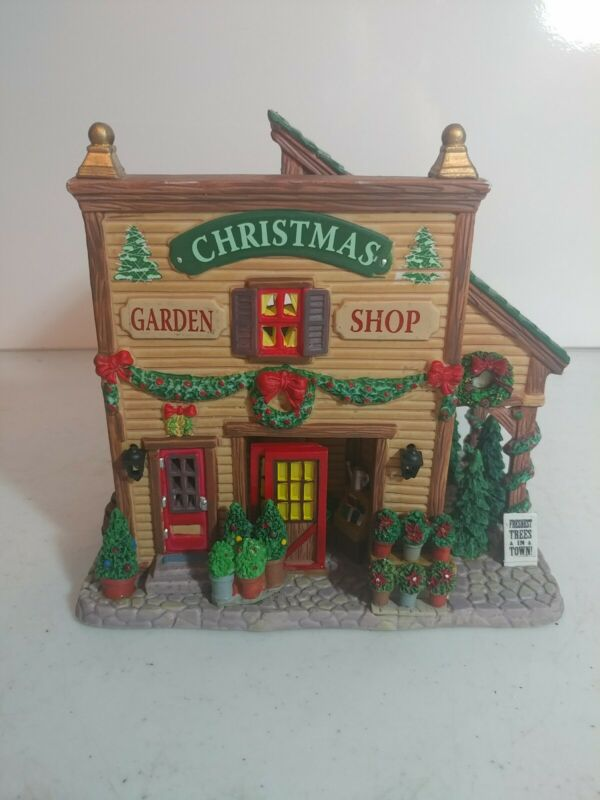 Lemax Christmas Garden Shop Lighted Building 2007