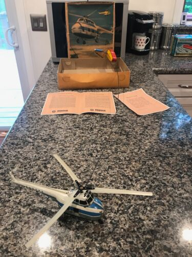 ARNOLD HELIBUS (LARGE) REMOTE CONTROL HELICOPTER W/BOX & INSTRUCTIONS. WORKING!
