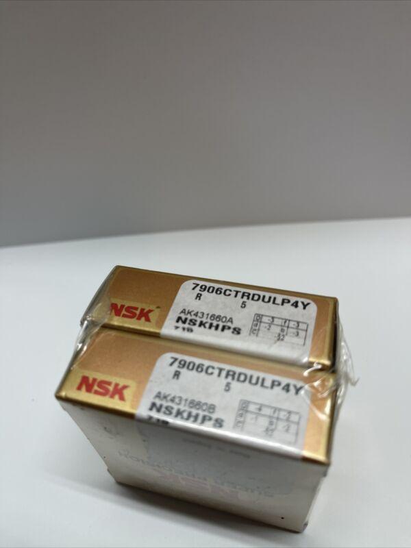 NSK 7906CTRDULP4Y Super Precision Angular Contact Bearing