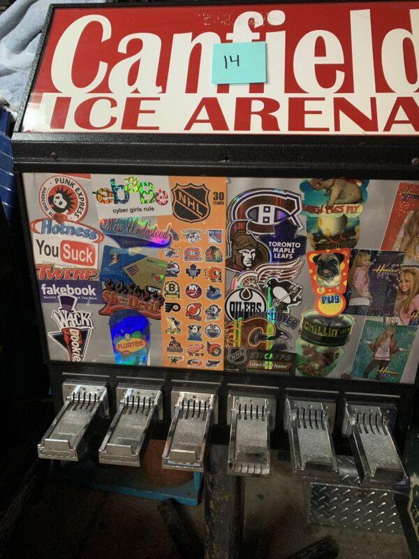 Sticker Vending Machine 6 Slot