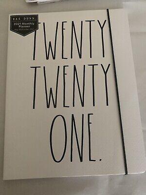 Rae Dunn 17 Month Planner 82020-122021 Soft Cover Twenty Twenty One.