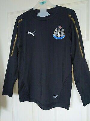 Newcastle United Puma Top Boys Age 9-10