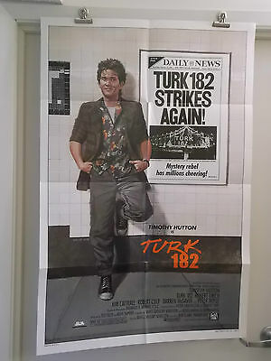 Turk 182 One 1 Sheet Movie Poster 1985 Timothy Hutton Original