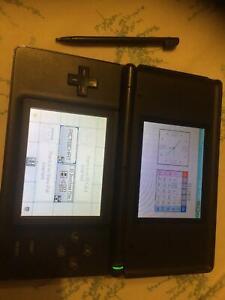 nintendo DS and 2 games mario kart super circuit,phalanx