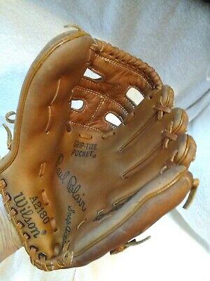Paul Blair Wilson Baseball Glove RHT A2180 Autograph Model New York Yankees