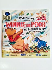 VINTAGE 1978 WINNIE THE POOH READ-ALONG BOOK AND RECORD