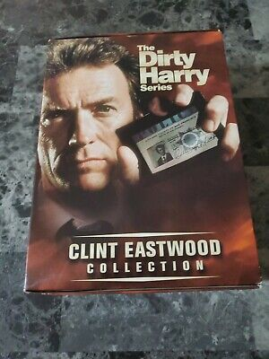 The Dirty Harry Series (DVD, 2001, 5-Disc Set, The Clint Eastwood Collection)