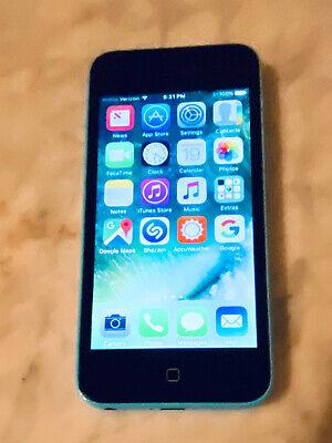 Apple iPhone 5c - Unlocked - 8GB - Blue (Verizon)