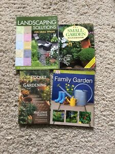 Gardening books - family gardens, design etc