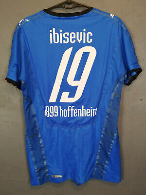 PLAYER ISSUE TSG 1899 HOFFENHEIM 2008/2009 IBICEVIC SOCCER FOOTBALL SHIRT SIZE M image