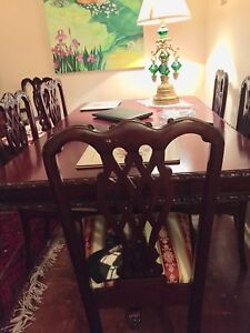 Chippendale Dining set now on sale