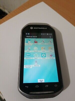 Zebra Symbol Motorola Mc40n0 Handheld Wireless Barcode Scanner Mc40n0