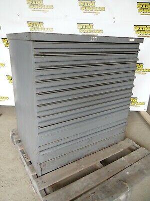 Equipto Heavy Duty 9 Drawer Storage Cabinet