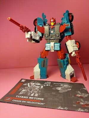 Transformers Titans Return Quickswitch VERY RARE from Chaos on Velocitron boxset