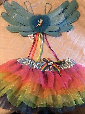 My Little Pony RAINBOW DASH Child Costume Sz 6-9 - Girls Rainbow Dash Costume