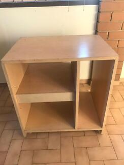 Sturdy Cream Shelving Unit Bulleen Manningham Area Preview