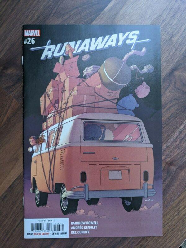 Runaways #26 NM - 1st team appearance of the Revenging Runaways