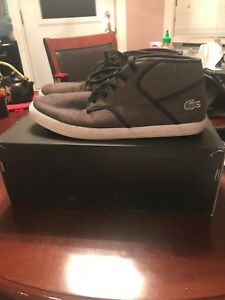 Lacoste Low Top Sneakers (SIZE 12)