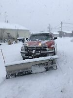 Well the snow has come plowing spaces still available