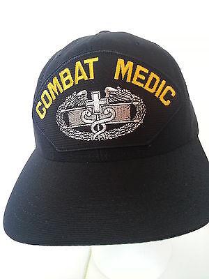 Combat Medic Military Ball Cap Hat