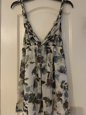 Abercrombie And Fitch Floral Tank Size L Euc